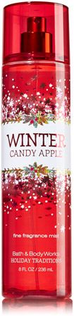 My latest obsession: Winter Candy Apple from Bath & Body Works. (Sorry, wasn't sure where to put it!)