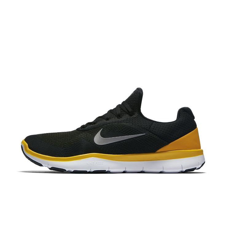 Nike Free Trainer V7 (NFL Steelers) Men's Training Shoe Size 12.5 (Black)