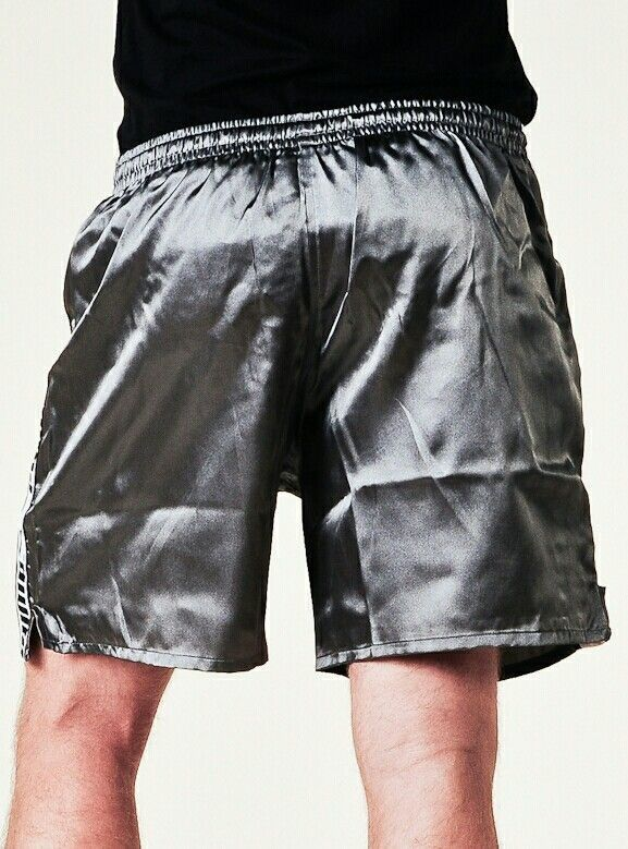 Men/'s Sleepwear Sleep Shorts Short Pants Satin Silk Pyjamas Casual Underwear Gym