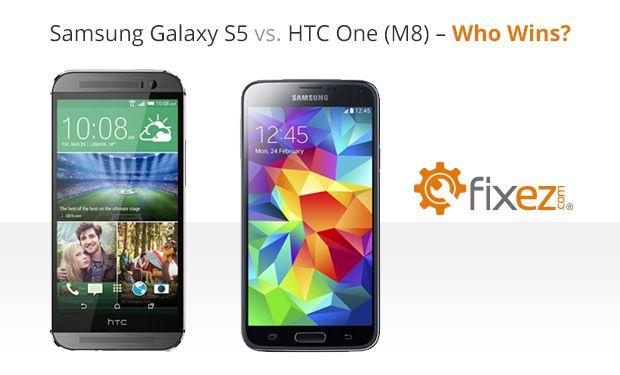 Samsung Galazy S5 vs HTC One (M8) - Who wins?