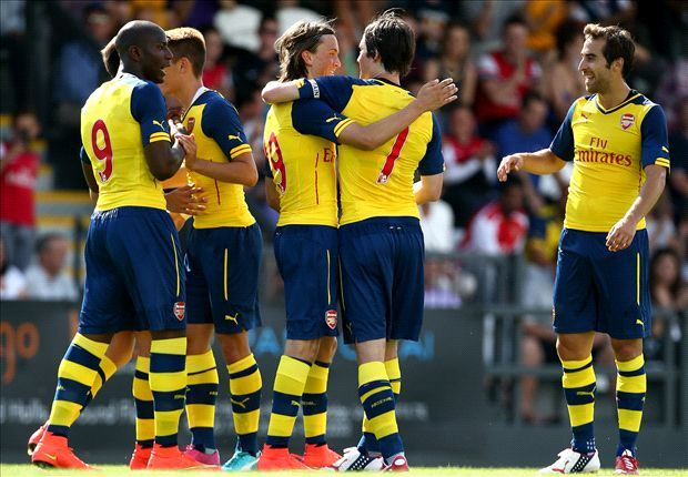 Boreham Wood 0-2 Arsenal: Ramsey features in Gunners stroll