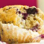 Délicieux Muffins aux bleuets!