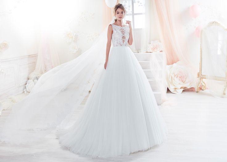Moda sposa 2018 - Collezione COLET.  COAB18327. Abito da sposa Nicole.