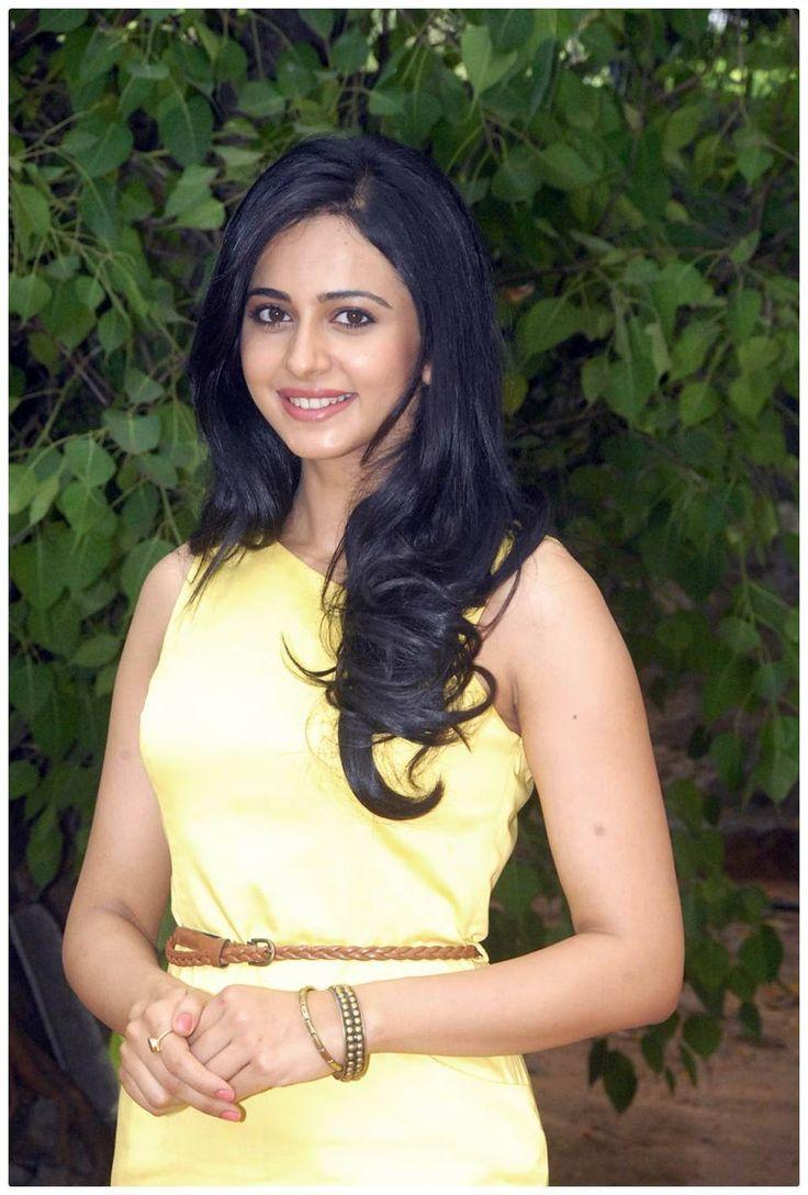Rakul Preet Singh Gorgeous Photos In Yellow Dress