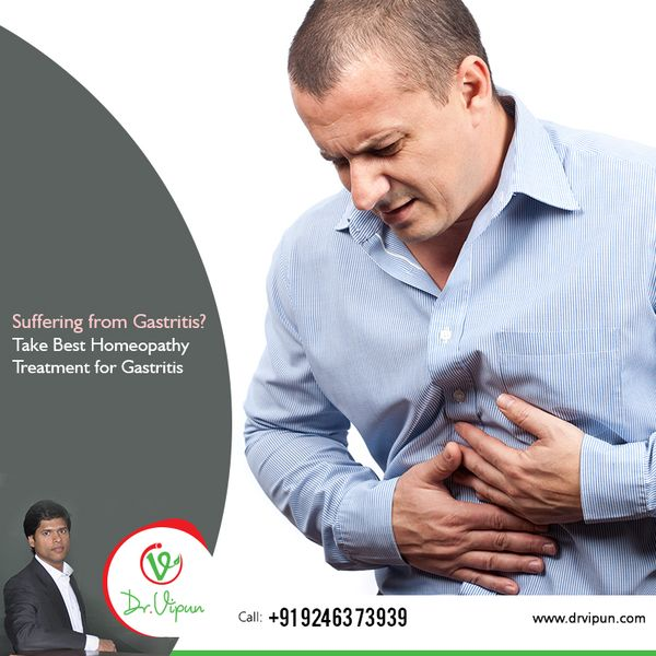 Suffering from Gastritis? Take Best Homeopathy Treatment for Gastritis. for more info visit: http://www.drvipun.com