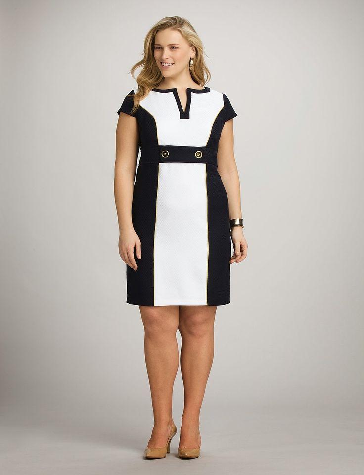 Atractivos vestidos cortos para gorditas | Vestidos de tallas grandes