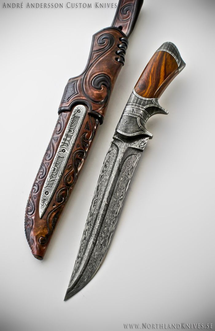 André Andersson Custom Damascus Knives - Knives, Daggers, Swords and Artknives from Sweden https://www.etsy.com/listing/461989330/custom-fixed-blade-knife-handmade-sheath?ref=shop_home_active_5