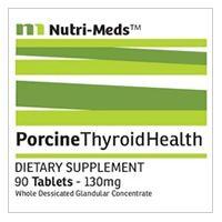 Nutri-Meds Desiccated Porcine Thyroid Tablets