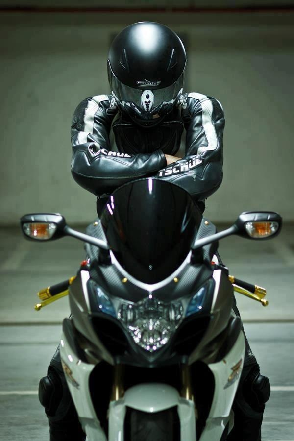 There is something very sexy about a motorcycle...