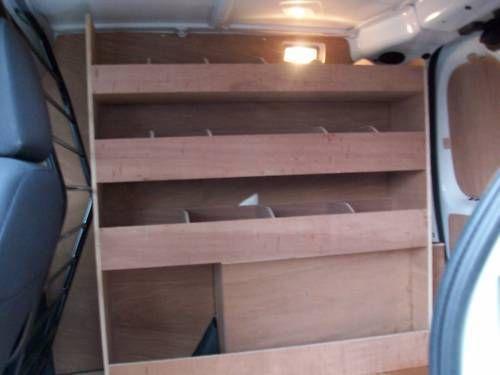 Citroen Nemo Plywood Shelving Van Racking Storage accessories in Vehicle Parts & Accessories, Commercial Vehicles Parts, Vans/Pickups | eBay!