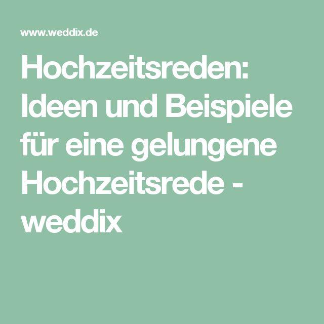 Hochzeitsreden: Ideen und Beispiele für eine gelungene Hochzeitsrede - weddix