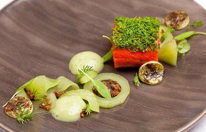Gin-Cured Salmon Recipe - Great British Chefs