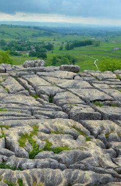 Yorkshire Dales Limestone, Yorkshire, UK