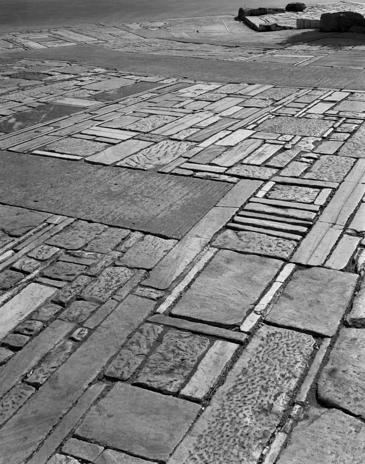 Landscaping of the Acropolis Surrounding Area, 1957