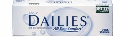 Focus Dailies Toric Contact Lenses, Buy Focus Daily Toric contact lenses at the cheapest prices. The UK's leading online supplier of Focus Daily Toric contact lenses.Get Focus DAILIES Toric contact lenses online at E2eopticians store