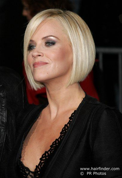 inverted bob, no bangs - going for this look, just a tad shorter