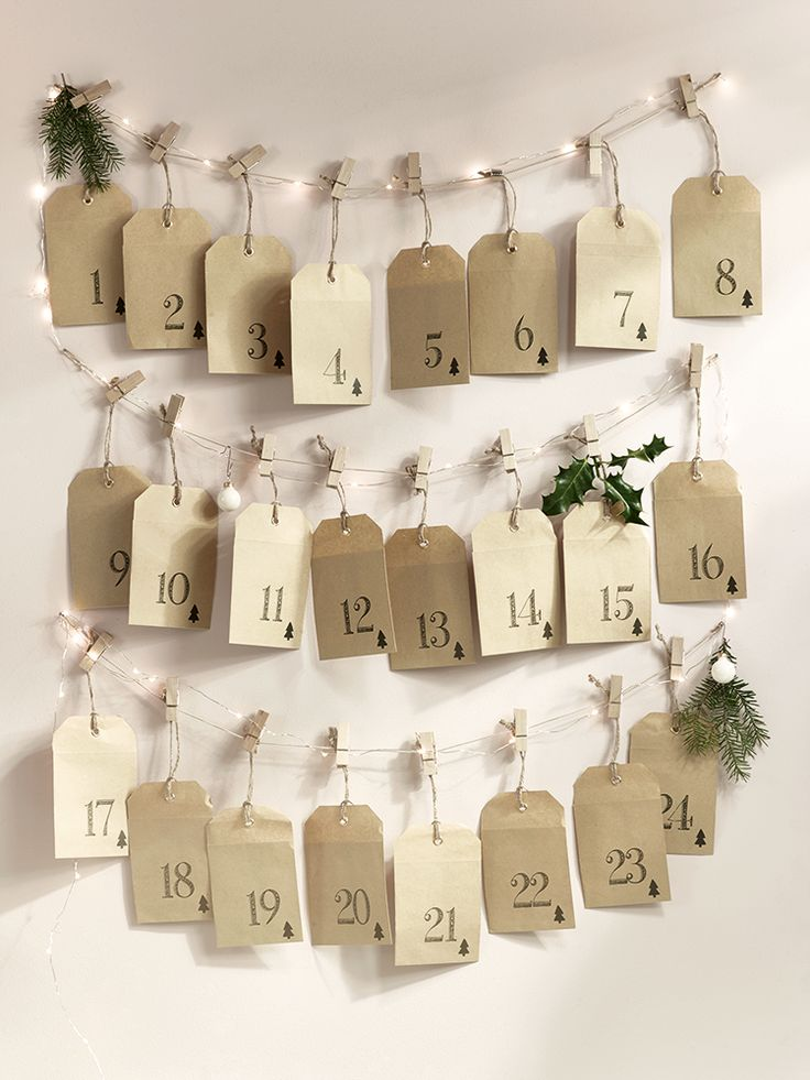 96 best advent calendars images on pinterest advent calendars the perfect way to countdown to christmas our do it yourself advent kit solutioingenieria Images