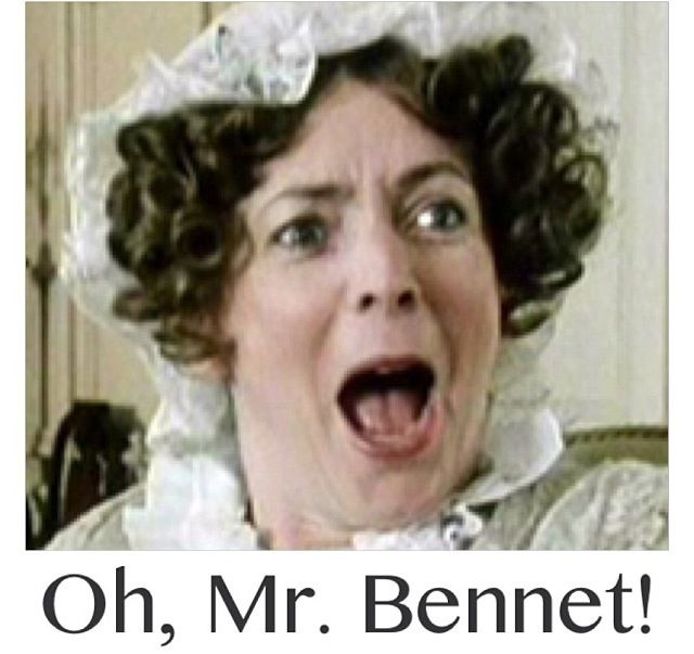 Oh, MRS. Bennet!  Chamomile + as Compassion for Mrs. Bennet's Nerves. ( and maybe Mr. Bennet's too!) http://www.bingleysteas.com/jane-austen-tea-series/compassion-for-mrs-bennets-nerves