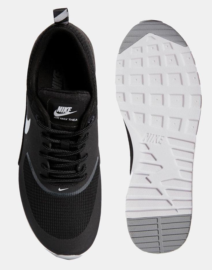 Imagen 3 de Zapatillas negras con cámara de aire Air Max Thea de Nike