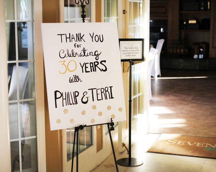 Best 25+ 30th Anniversary Ideas On Pinterest