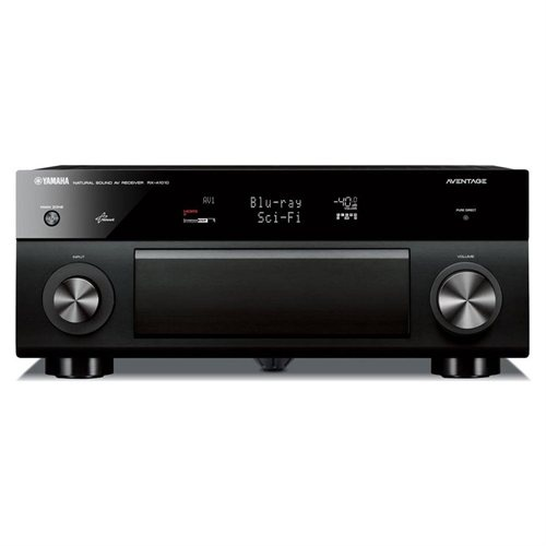 Yamaha AVENTAGE RX-A1010 3D A/V Receiver - 120 W RMS - 7.2 Channel - Multizone - Dolby Digital, Dolby TrueHD, Dolby Digital Plus, Dolby Pro Logic IIx, DTS, DTS HD - 1 kHz - AM, FM - Ethernet - HDMI - 8 x HDMI In - 2 x HDMI Out - USB - iPod Supported - DLN