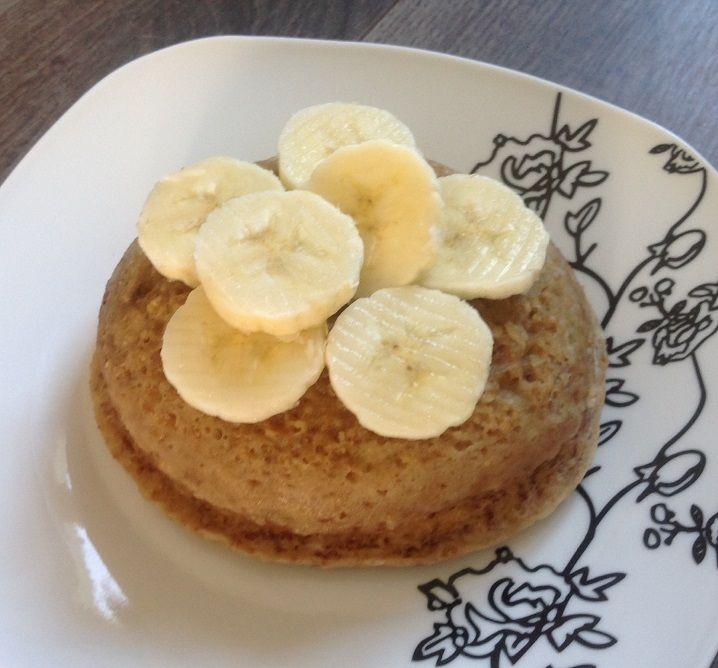 Recette Bowl cake banane/spéculoos - 5 pp proposée par alimentationWW sur son blog alimentation WW