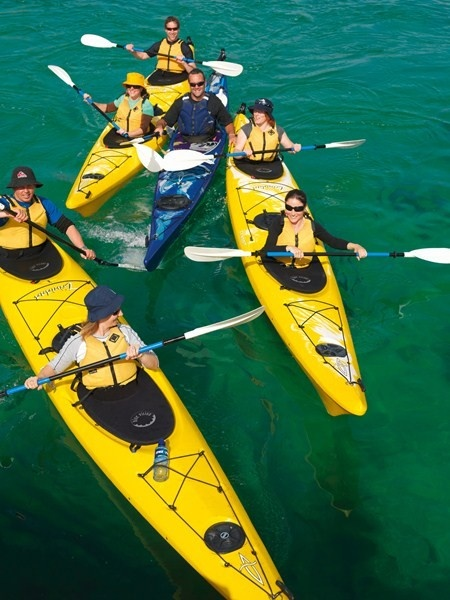 Bayplay-Sea Kayak Tours. Mornington Peninsula, Victoria, Australia.