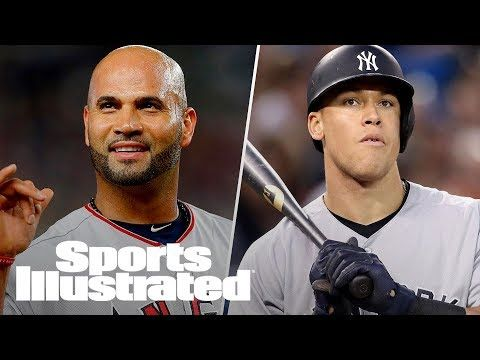 MLB: Angels' Albert Pujols Gives Advice To Slumping Aaron Judge | SI NOW | Sports Illustrated