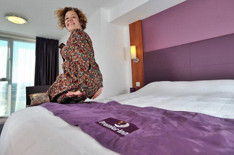 Natalie Thomas - Premier Inn Bed Tester