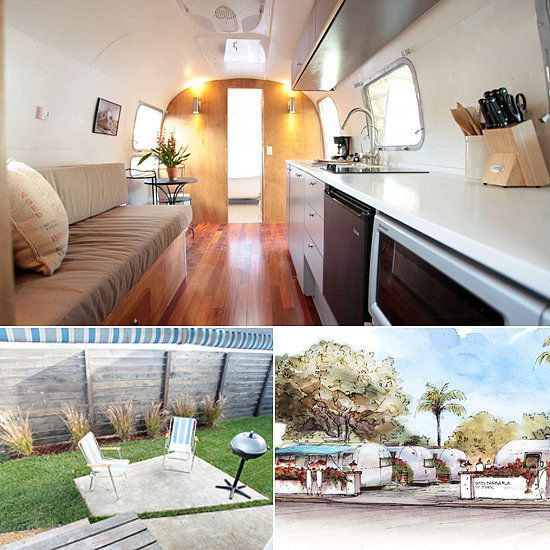 A sleek mini home in Santa Barbara - Airstream Campers to Rent This Summer