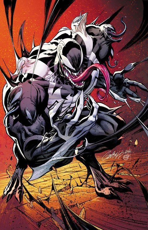 Venom by J. Scott Campbell