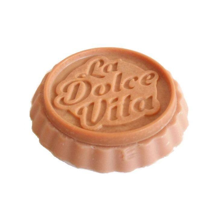Cire Parfumée Chocolat Tartelette Cire Végétale Naturelle Parfum d'intérieur : Luminaires par bougies-parfumees-fleur-artifice