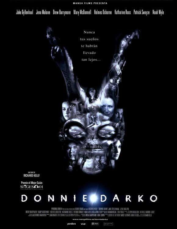 Donnie Darko Spanish 11x17 Movie Poster 2001 Donnie Darko Patrick Swayze Jena Malone