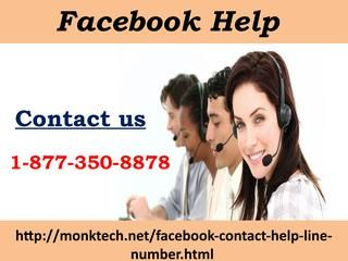 How Can I Attach Instagram With Fb? Dial Facebook help 1-877-350-8878 Don't you know how to attach Instagram with Facebook? Do you want to know this as soon as possible? If yes, then you don't need to take tension, as you can easily terminate all these quarries with the help of technical geeks. So, make a call at our free of cost Facebook help 1-877-350-8878 and fix all problems within a couple of seconds. For more information:-http://monktech.net/facebook-contact-help-line-number.html See…