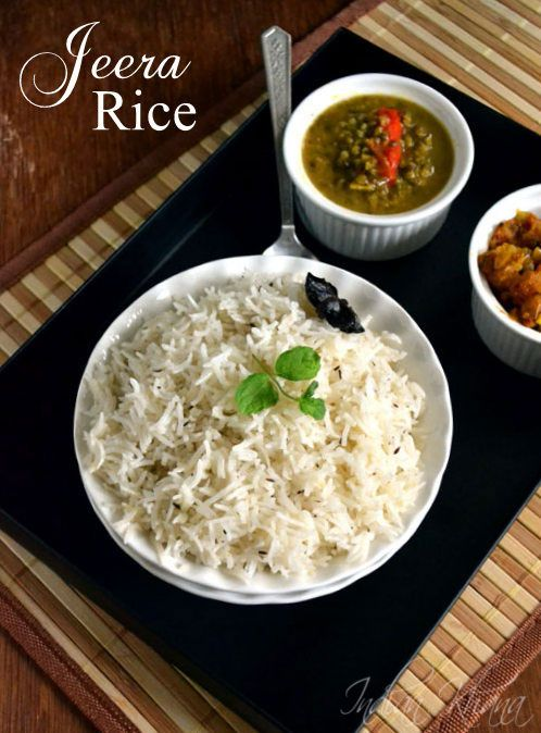 Jeera Rice (Pulao) Recipe | Easy Lunch Box Recipes