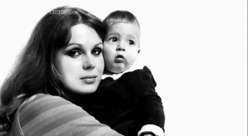 Joanna Lumley and her son Jamie