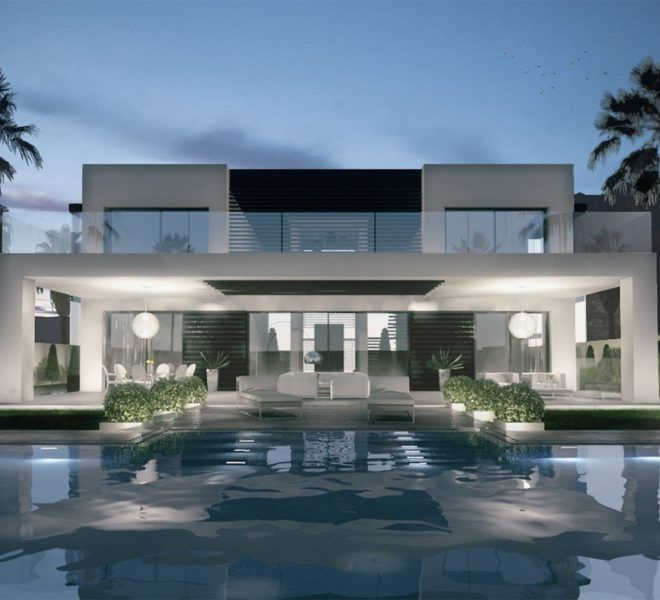 Modern Villas We Design Build And Sell Modern Villa Design House Design Modern Mansion
