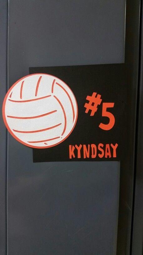 image regarding Printable Locker Signs named Printable Locker Signs or symptoms For Volleyball Happiness Studio Structure