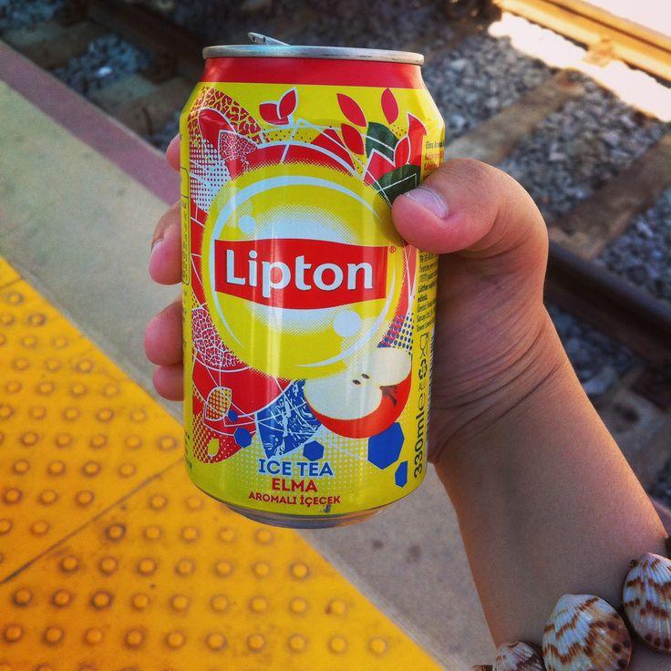 Lipton - Ice Tea Elma.! #Lipton #Icetea #Elma #Tarsus