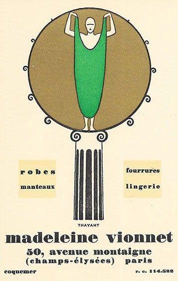 20 best madeleine vionnet images on Pinterest Madeleine vionnet - cree sa maison en d