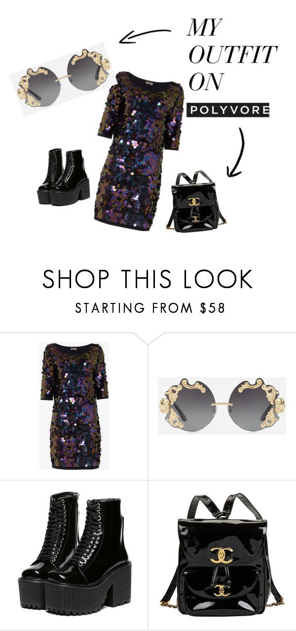 """""""Untitled #5"""" by kocze-eniko on Polyvore featuring Dolce&Gabbana and Chanel"""