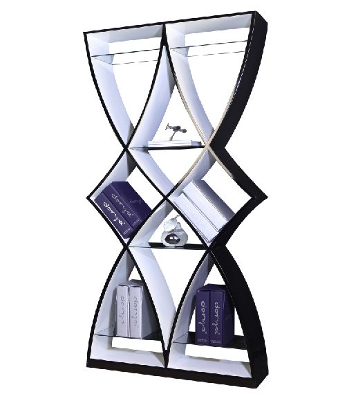 Luxury Diamond Wooden Shelf Unit A