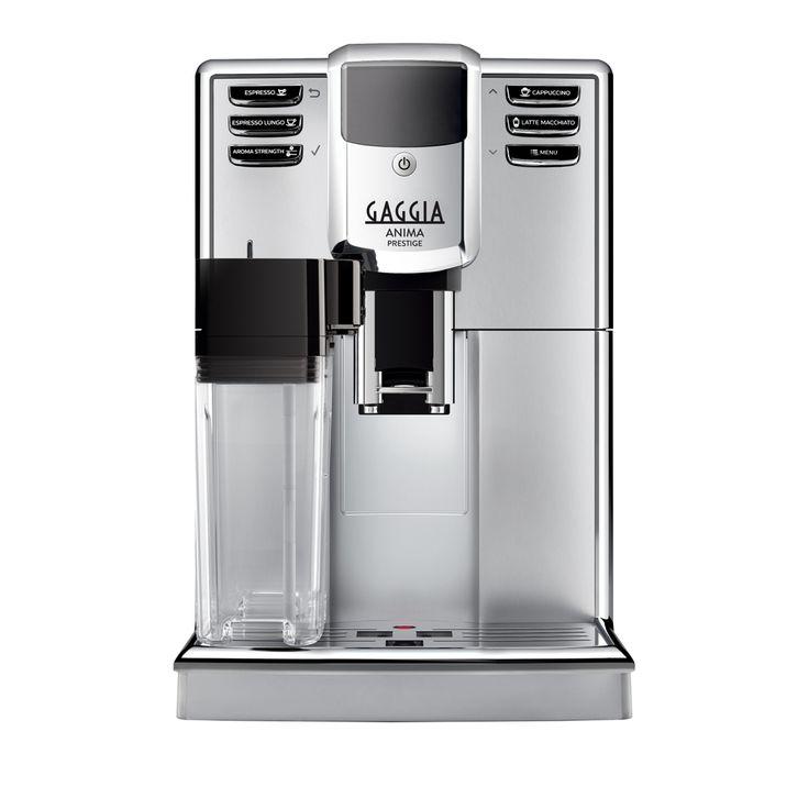 Gaggia Anima Prestige Super-Automatic Espresso Machine - Who's ready for the New Gaggia Espresso Machines?! I know we are! The new Anima line resembles the modern, sleek, touch of the espresso machine!