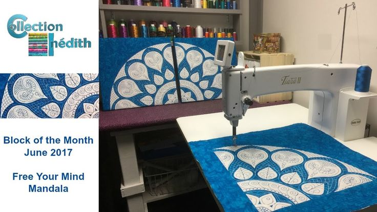 Collection Inédith - Free Your Mind Mandala - Block of the Month - June ...