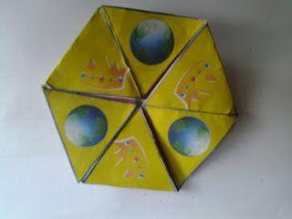 Trinity flexagon