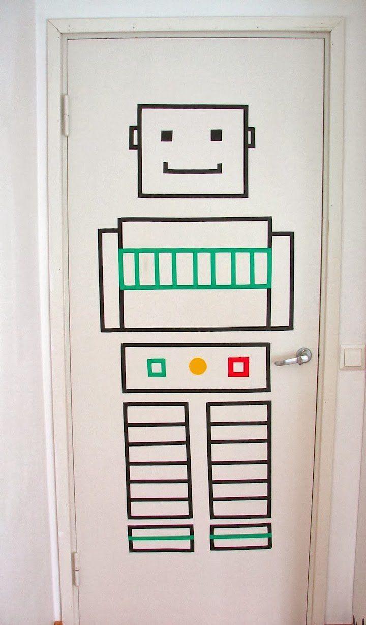 19 idées pour décorer une porte - blog déco - Clem around the