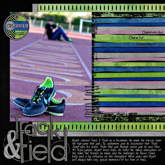 Track & Field - Scrapbook.com