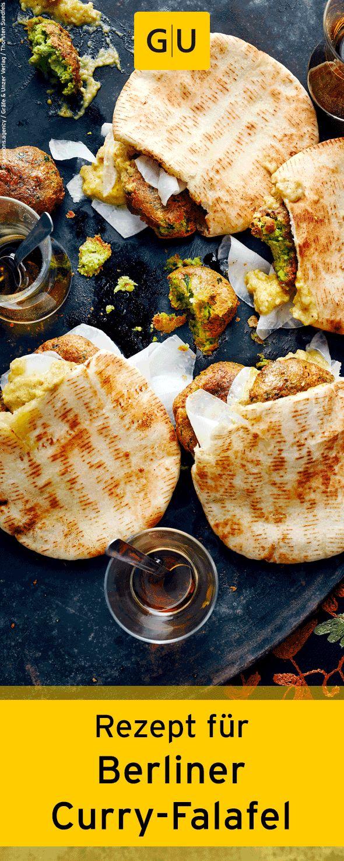 """Schnelles Rezept für Berliner Curry-Falafel. Das Rezept findet ihr in der Leseprobe zum Buch """"Cook mal türkisch"""". ⎜GU"""