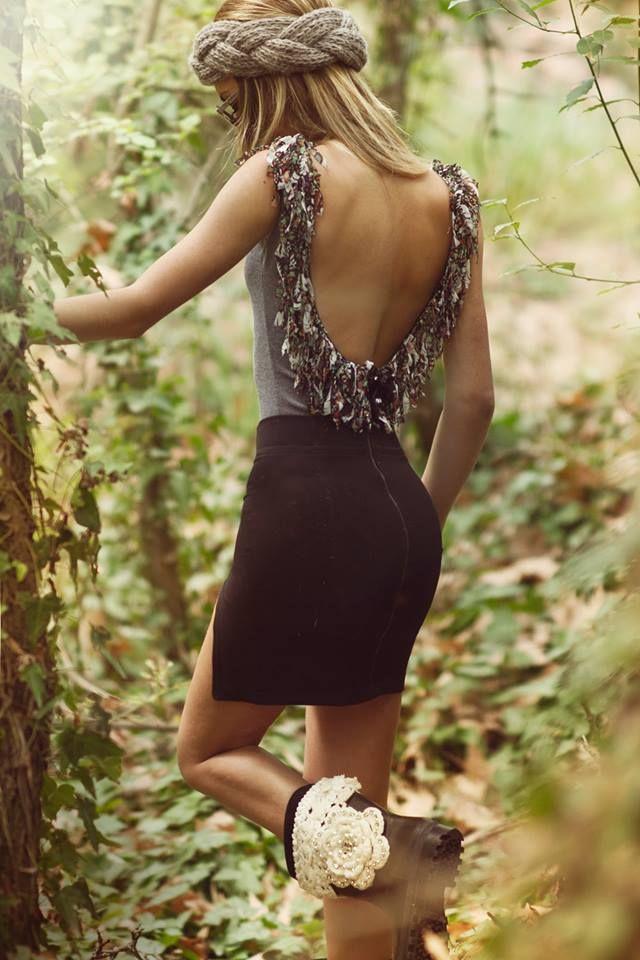 ''Greyscale Flower'' Bodysuit*_
