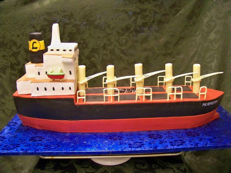 Cargo ship cake yes its cake pinterest